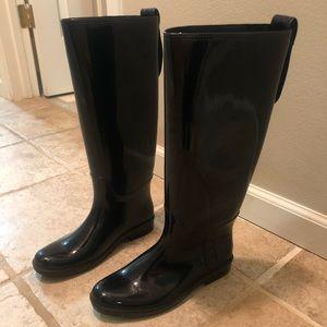 Women's coach rain boots